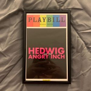Hedwig and the Angry Inch Pride Playbill